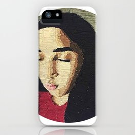 """""""Stitches"""" Embroidery iPhone Case"""