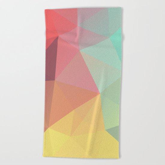 Geometric IX Beach Towel