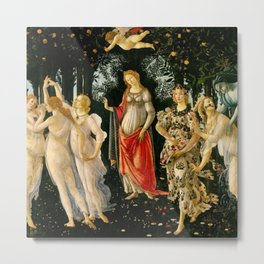 "Sandro Botticelli ""Spring"" Metal Print"