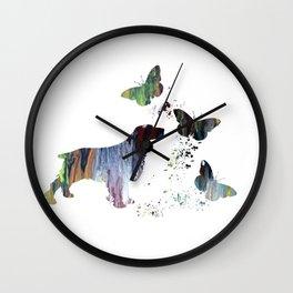 Spaniel Artwork Wall Clock