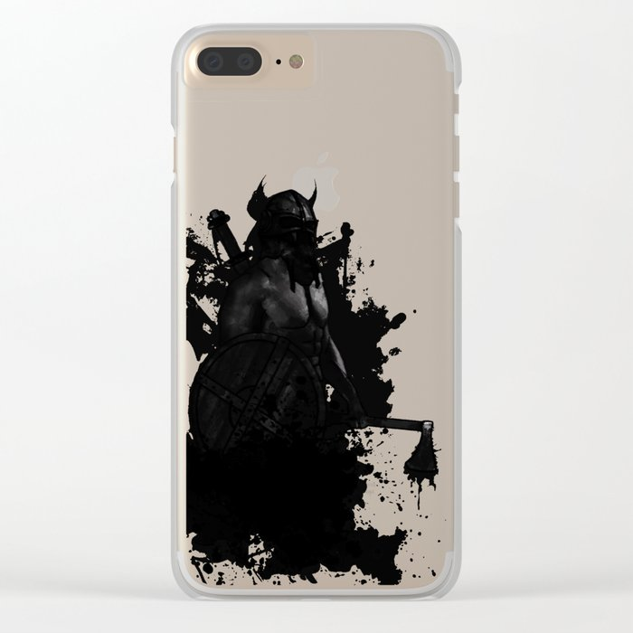Viking Clear iPhone Case