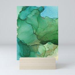 Tropical island Mini Art Print