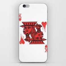 LOVE IS AN OPEN WOUND iPhone & iPod Skin