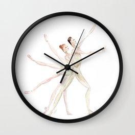 Apollo and Ballerinas Wall Clock