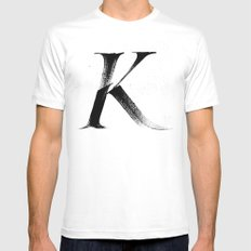 /K/ Mens Fitted Tee White MEDIUM