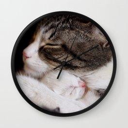 Mother's hug Wall Clock