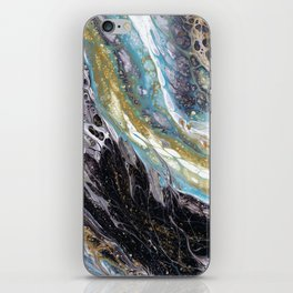 A View from the ISS - Abstract Flow Acrylic iPhone Skin