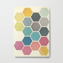 Honeycomb II Metal Print