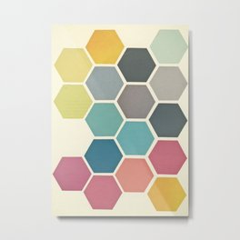 Honeycomb II Metal Print