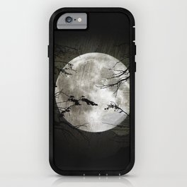 The moon in my hands iPhone Case