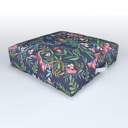 Folktale Pattern Outdoor Floor Cushion