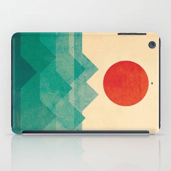 The ocean, the sea, the wave iPad Case
