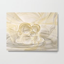 Series Abstract Art in Earth Tones 2 Metal Print