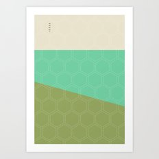 Geo Block No. 1 Art Print
