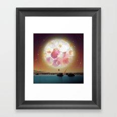 L'Amoureux Melancolique Framed Art Print