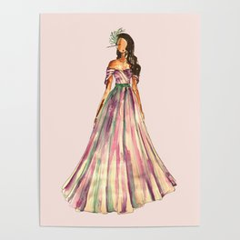 Belle Of The Ball (Pink Edition) Poster