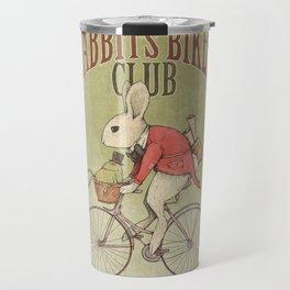 Rabbits Biker Club Travel Mug