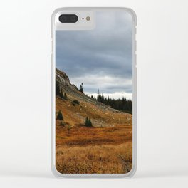 continental divide Clear iPhone Case