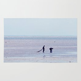 Treasure Hunters on the Beach Rug