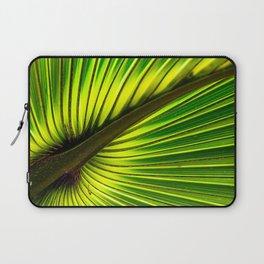 Green Burst Laptop Sleeve