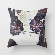 Jubilee rain  Throw Pillow