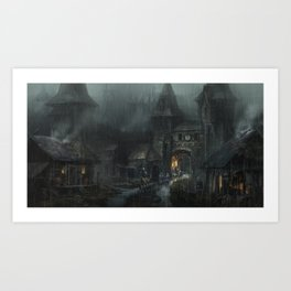 Delivery Art Print