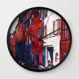 Rome buildings Wall Clock
