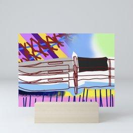Knifed Mini Art Print