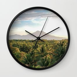 Mighty Volcano Wall Clock