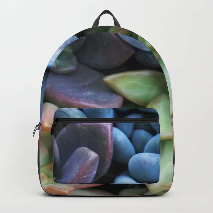 Colorful Succulents Backpack