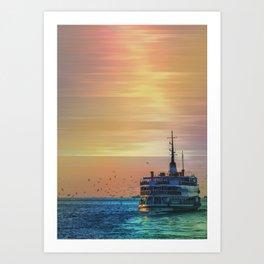 sunset ll Art Print