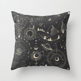 Magic patterns Throw Pillow