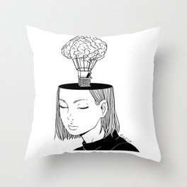 Free Thought Throw Pillow
