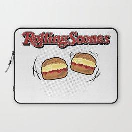 The Rolling Scones: scones and stones! Laptop Sleeve