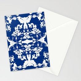 RADIATE   COBALT Stationery Cards