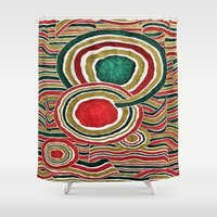 family Shower Curtains featuring Family by Yukska