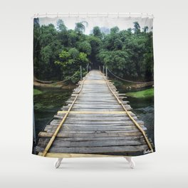 Ready for Adventure Shower Curtain