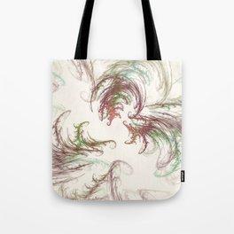 Harvest Winds Fractal Tote Bag