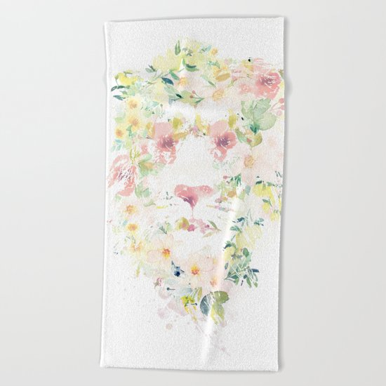 Spring is here Beach Towel