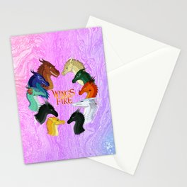 Wings Of Fire Stationery Cards