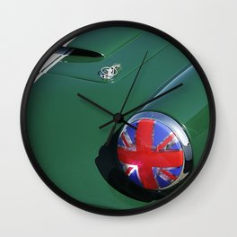 Union Jack Headlight Wall Clock