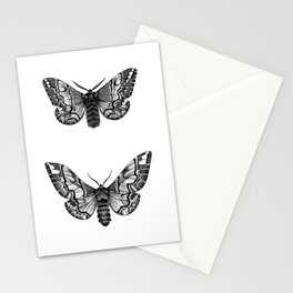 Endromis versicolora Stationery Cards