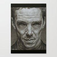 benedict cumberbatch Canvas Prints featuring Benedict Cumberbatch by Bungle