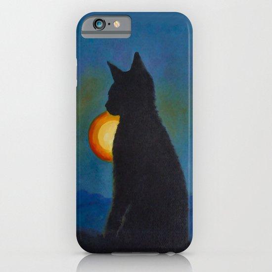 Cat Silhouette iPhone & iPod Case