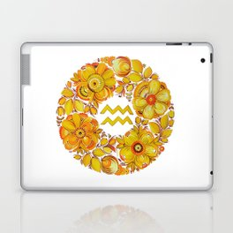 Aquarius in Petrykivka style (without artist's signature/date) Laptop & iPad Skin