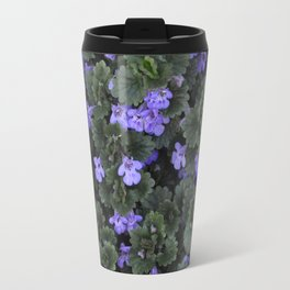 Ground Ivy Flower Travel Mug
