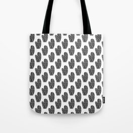 Black and White Mittens Tote Bag
