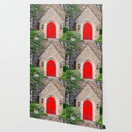 Red Door Wallpaper