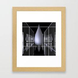 drop -1- Framed Art Print