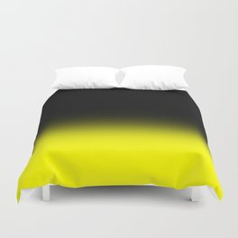 Fade To Yellow Duvet Cover